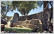Ruinen vom Great Zimbabwe